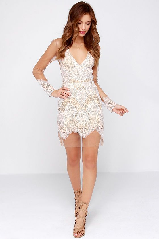 LACES AND MESH Dress