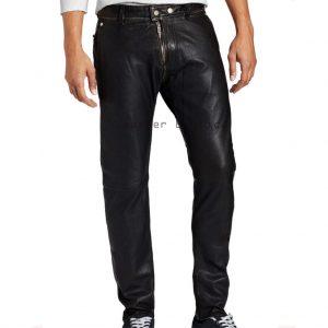 Buy Online Men Leather Pants