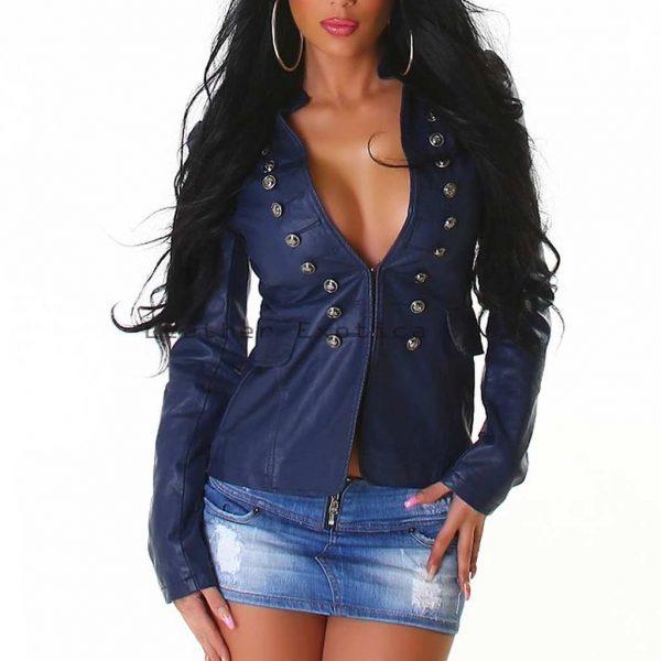 Women Leather Sexy Hot Jacket Trendy Hot Designer Style