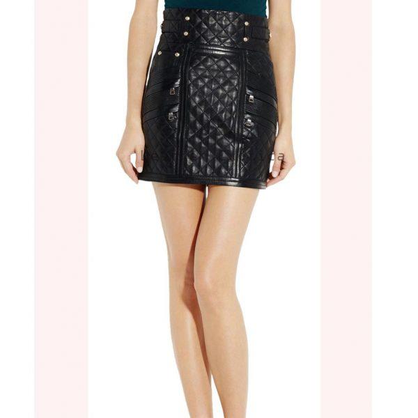Designer Leather Skirt 59