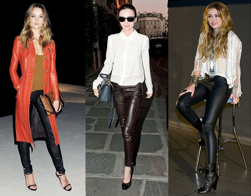 Tops To Wear With Leather Leggings