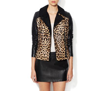 Animal Print Leather Outfits