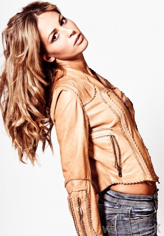 woman-in-a-leather-jacket
