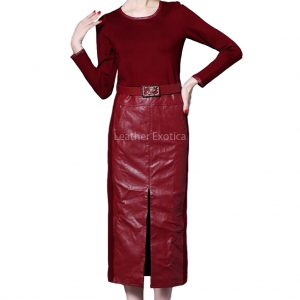 Stylish Women Leather Skirts Online
