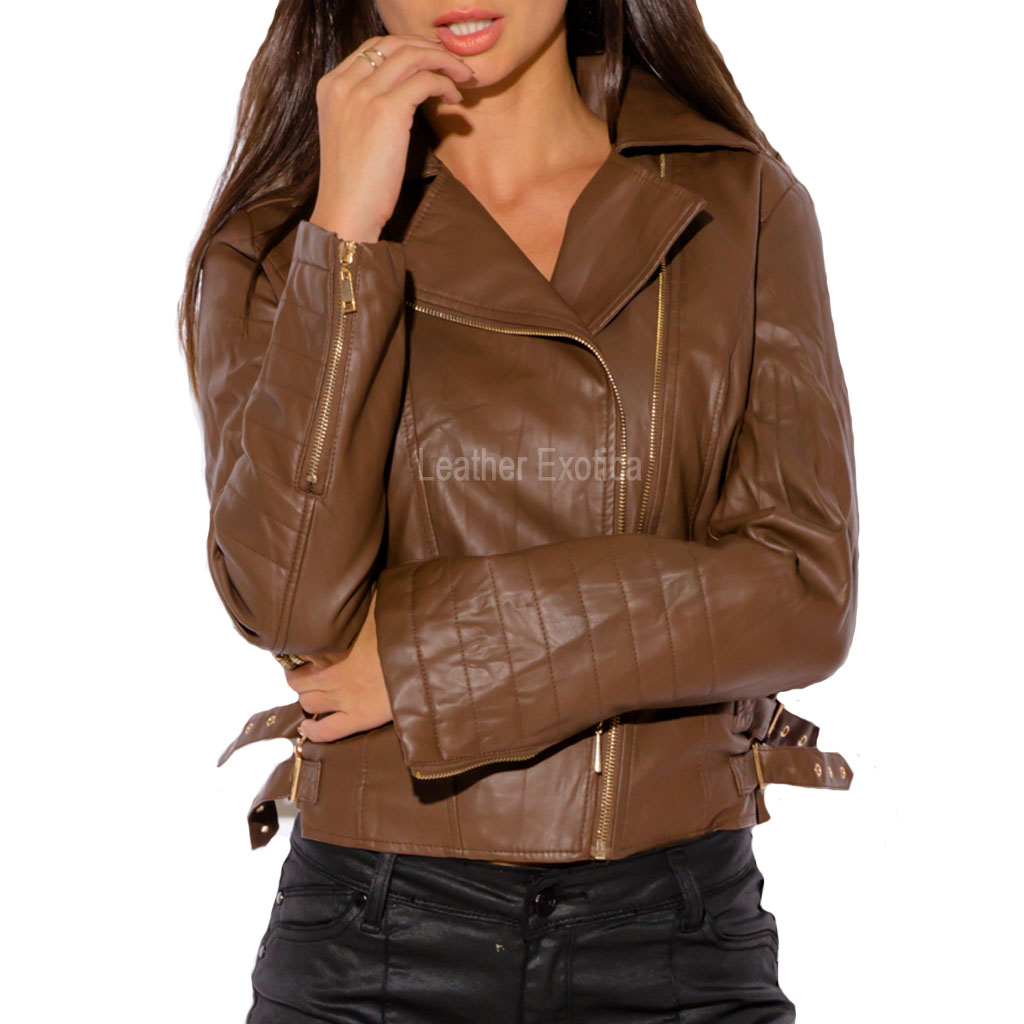 Spring leather jackets