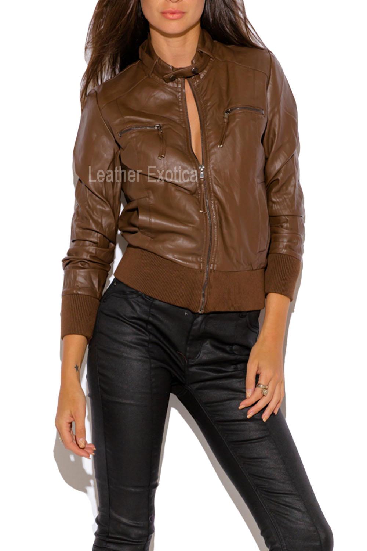 Leather jacket sale womens -  Leather Jacket For Women Sale Lewd 0004b Lewd 0004 Lewj0004ss
