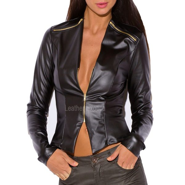 Sexy leather jackets