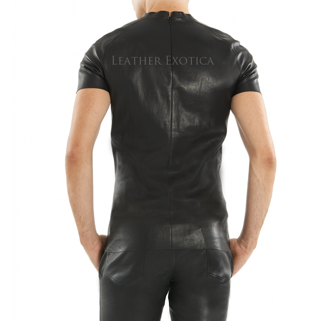 Find leather t-shirt men at ShopStyle. Shop the latest collection of leather t-shirt men from the most popular stores - all in one place.