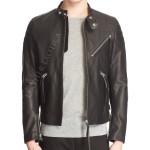 Leather Moto Jacket For Men