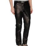 Classic Lamb Skin Men Leather Pants