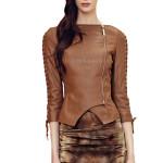 Designer Lambskin Leather Jacket For Women