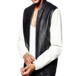 Men Stylish Leather Vest