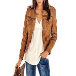 Stylish Leather Jacket For Women