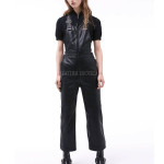 Cool Style Leather Jumpsuits For Women