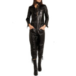 New Style Leather Jumpsuits For Women