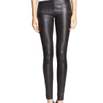 Style Edgy Leather Pants For Women