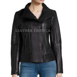 Moto Leather Jacket For Women