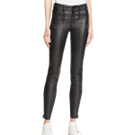 Ultra High Rise Skinny Leather Pants