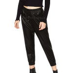 Jogging Leather Trousers For Women