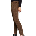 Sexy Style Suede Leather Pants
