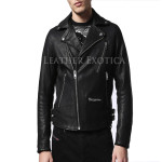 Cool Style Leather Biker Jacket