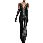Cool Stylish Leather Jumpsuits For Women
