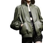 Designer Style Leather Jacket for Women