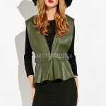Leather Waistcoat For Women