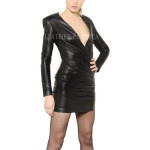 Hot Leather Dress For Women