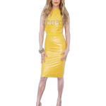 Summer Special Women Leather Dress