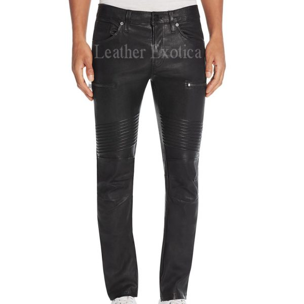 Women Slimfit leather pant, Women body fitted black leather pant, river road women 5 pocket leather pant and many others are included in the offering collection of our stores. With multiple pockets, fitted waist with button designs of these pants is giving you an .