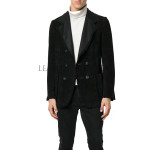 Awesome Tough Look Men Leather Blazer