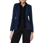 Women Suede Trendy Leather Blazer