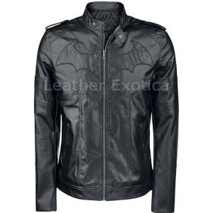 BATMAN ARKHAM KNIGHT BIKER JACKET