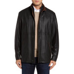 Elegant Design Men Leather Jacket