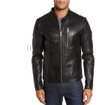 Standard Men Leather Biker Jacket