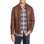 Distressed Men Designer Leather Jacket