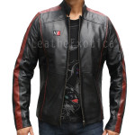 Designer Men Biker Leather Jacket
