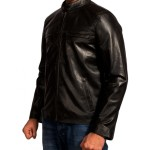 Aaron Taylor Godzilla Biker Leather Jackets
