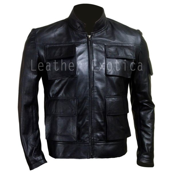 HAN SOLO  SMUGGLER LEATHER JACKET