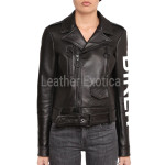 Biker Women Leather Jacket