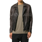 Biker Men leather Jacket