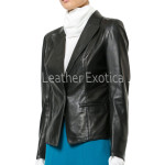 Stander Style Women Leather Blazer
