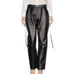 Loose Fitting Women Leather Pants