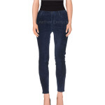 Suede Leather Skinny leather pants for women