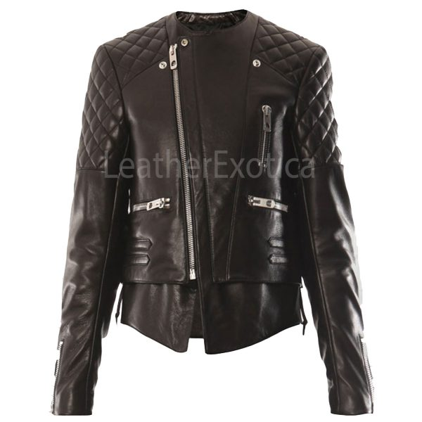 Miranda-Kerr-Quilted-Leather-Jacket