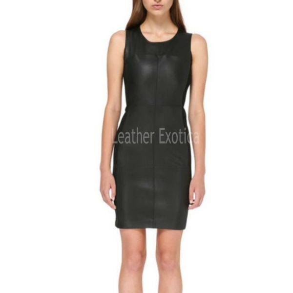Sleeveless Little Black Dress For Women