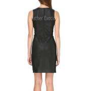 Sleeveless Little Black Dress For WomenBack