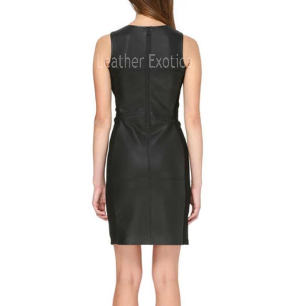 Sleeveless Little Black Dress For Women