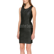 Sleeveless Little Black Dress For Womenfront